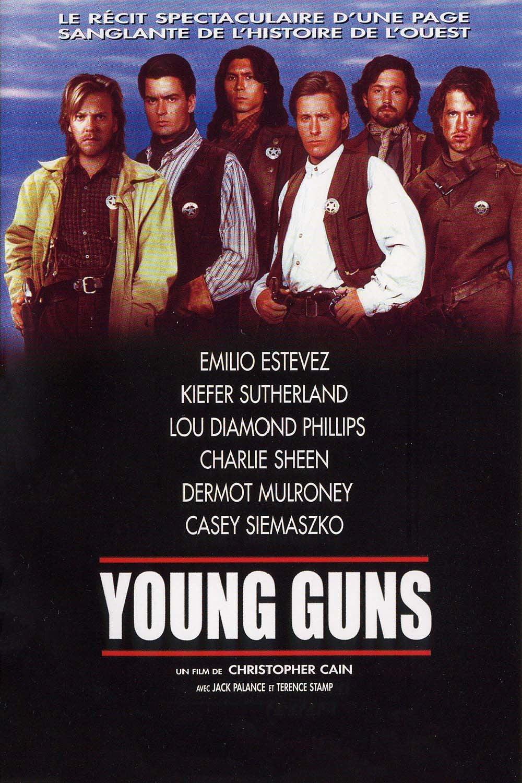 affiche du film Young Guns
