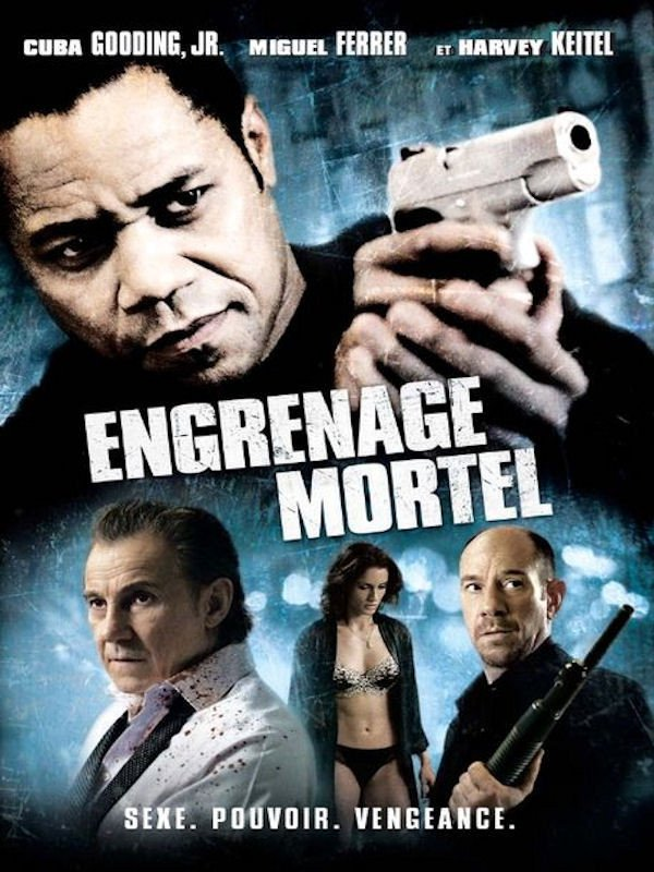 affiche du film Engrenage mortel
