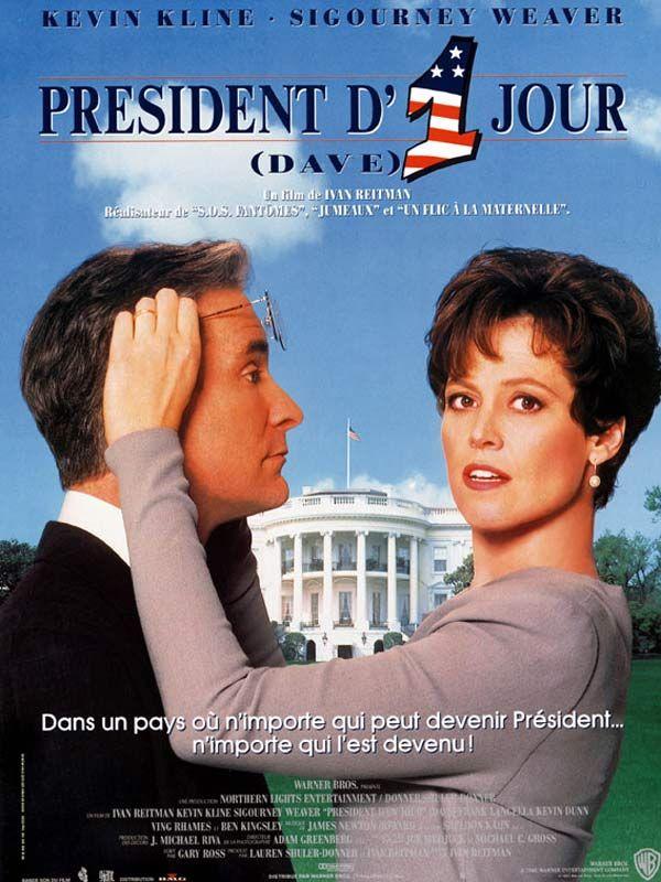 affiche du film Président d'un jour