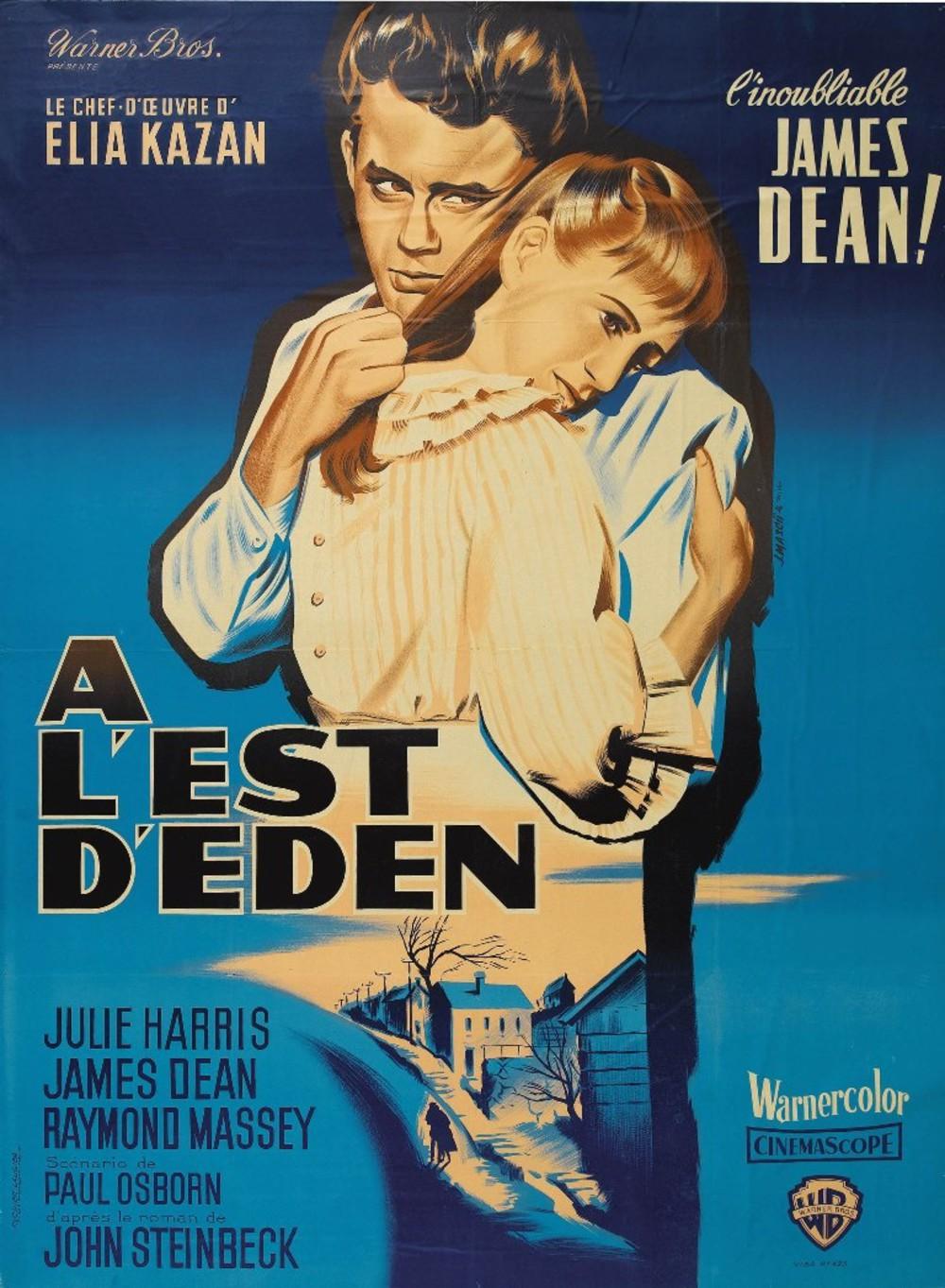 affiche du film À l'est d'Eden