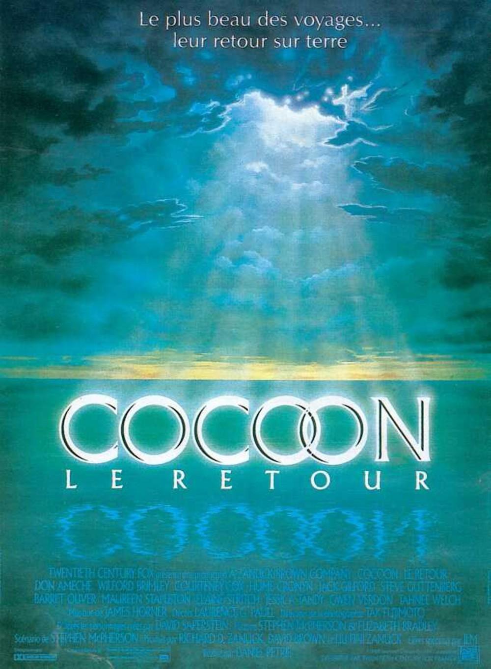 affiche du film Cocoon, le retour
