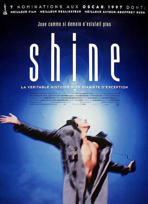 affiche du film Shine (1996)