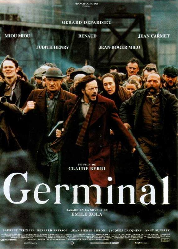 affiche du film Germinal (1993)