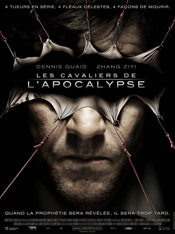 affiche du film Les cavaliers de l'Apocalypse