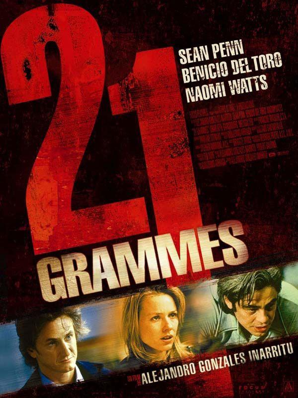affiche du film 21 grammes