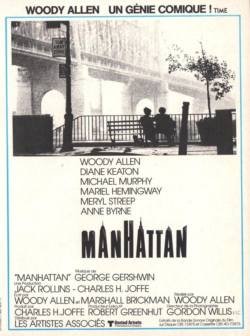 affiche du film Manhattan