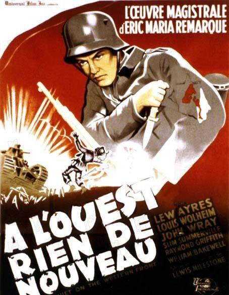 affiche du film À l'ouest, rien de nouveau (1930)