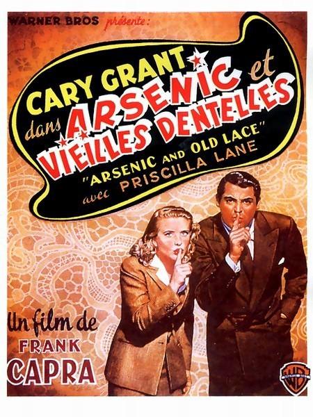 affiche du film Arsenic et vieilles dentelles