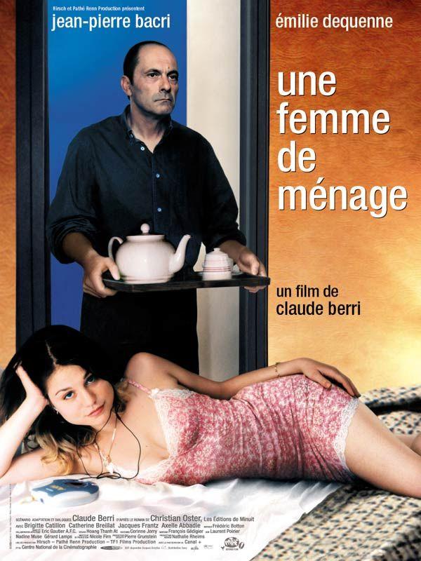 affiche du film Une femme de ménage