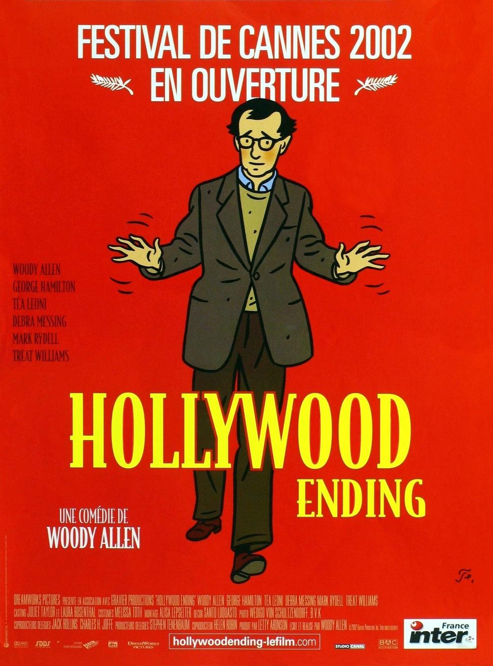 affiche du film Hollywood Ending