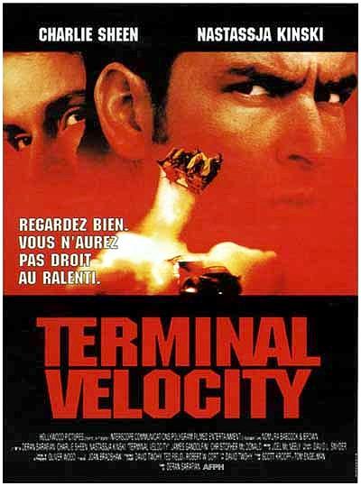 affiche du film Terminal Velocity