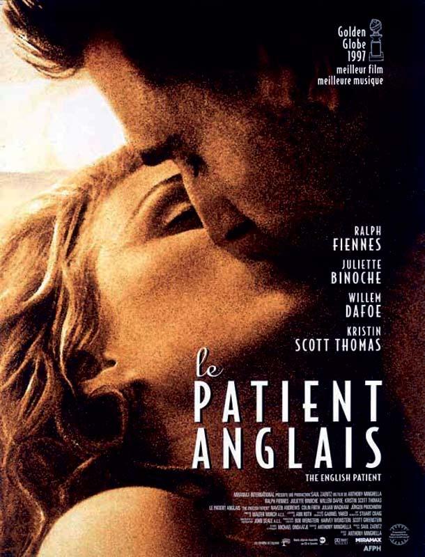 affiche du film Le Patient anglais