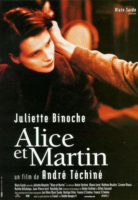affiche du film Alice et Martin