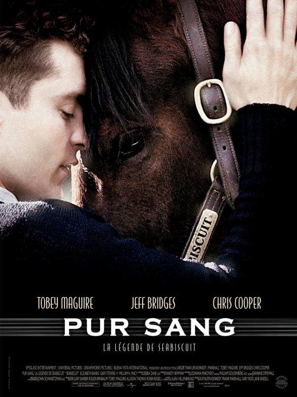 affiche du film Pur sang : la légende de Seabiscuit