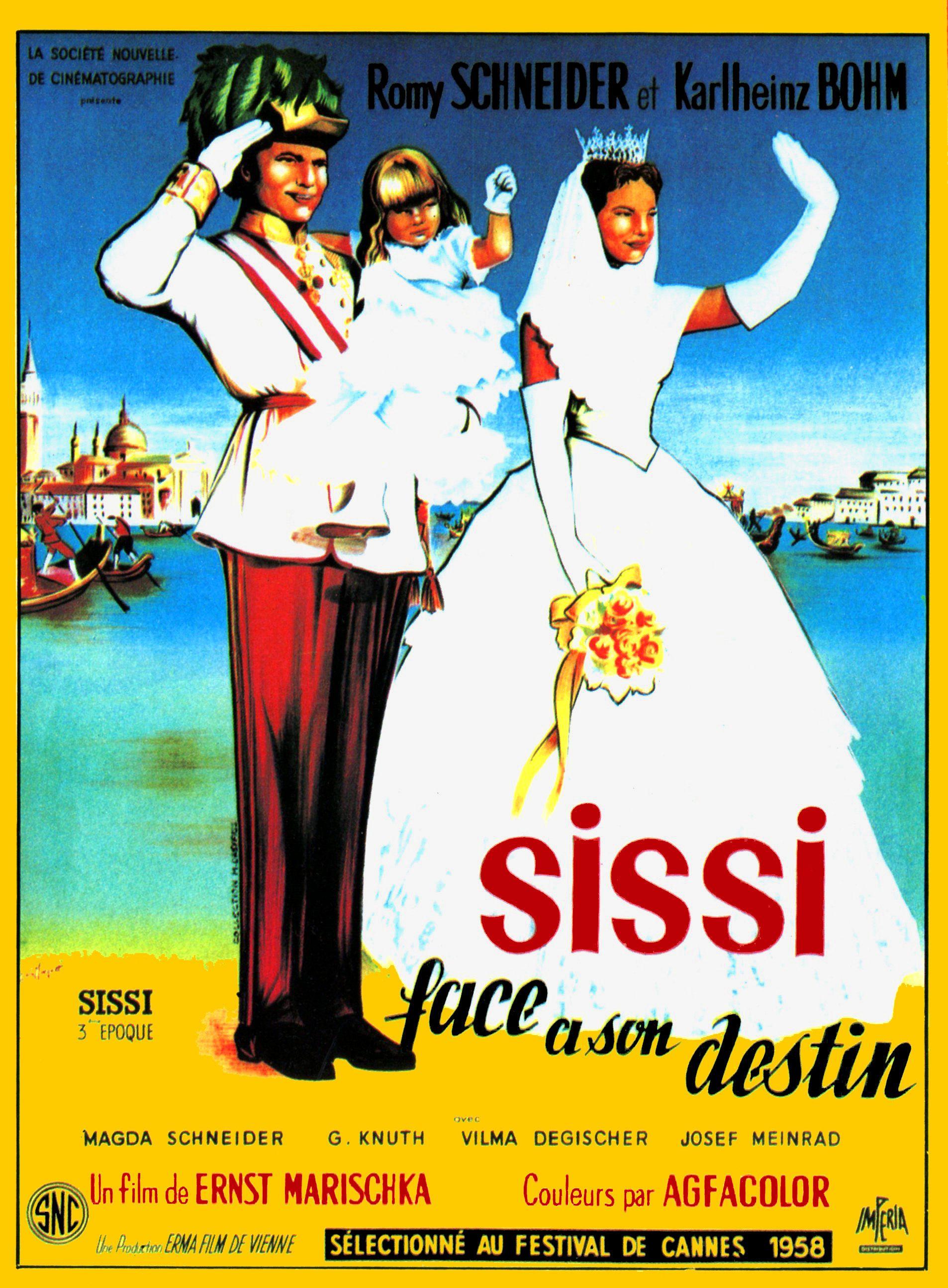 affiche du film Sissi face à son destin