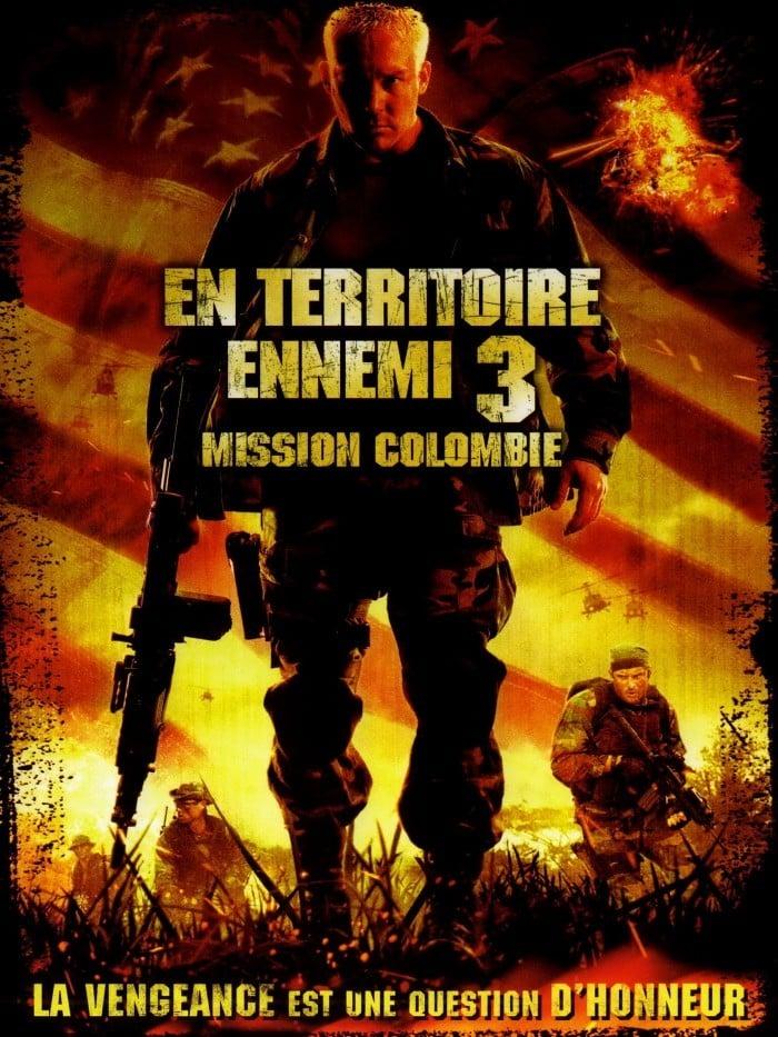 affiche du film En Territoire Ennemi : Mission Colombie