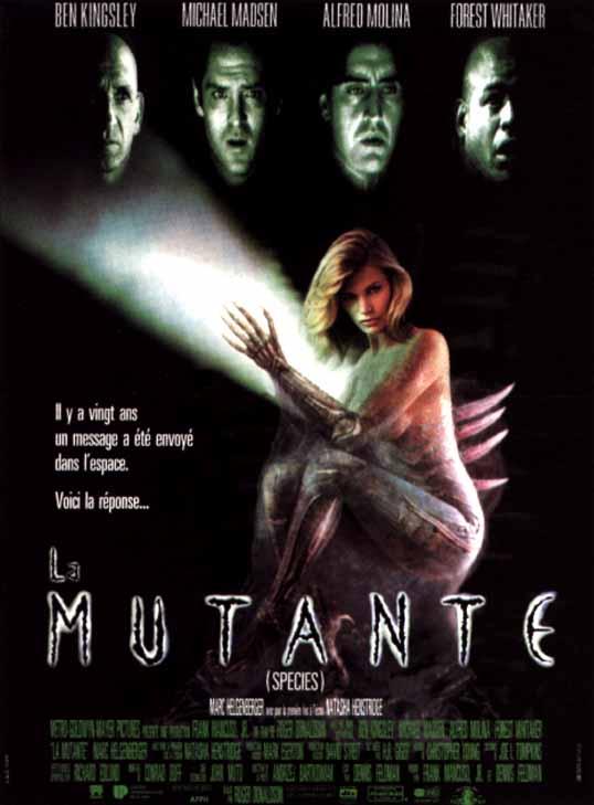 affiche du film La mutante