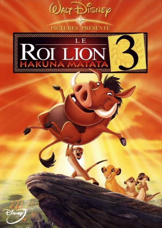 affiche du film Le Roi Lion 3 : Hakuna matata