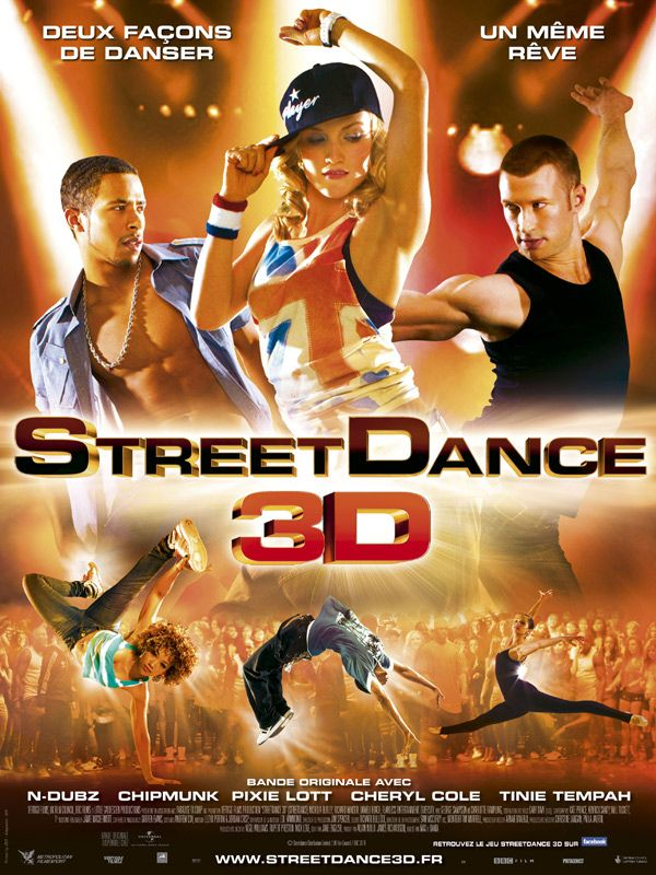 affiche du film StreetDance 3D