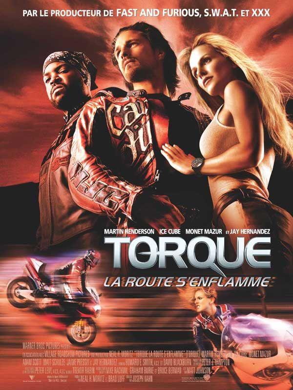 affiche du film Torque, la route s'enflamme