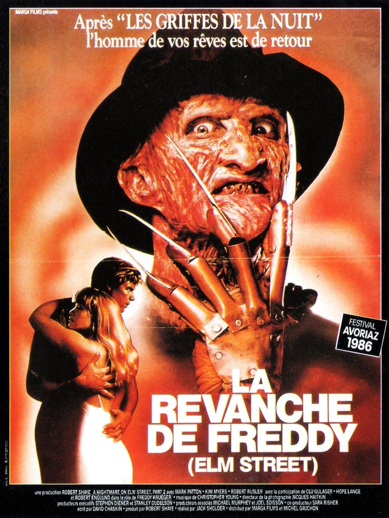 affiche du film La revanche de Freddy