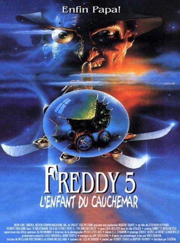 affiche du film Freddy 5: L'enfant du cauchemar