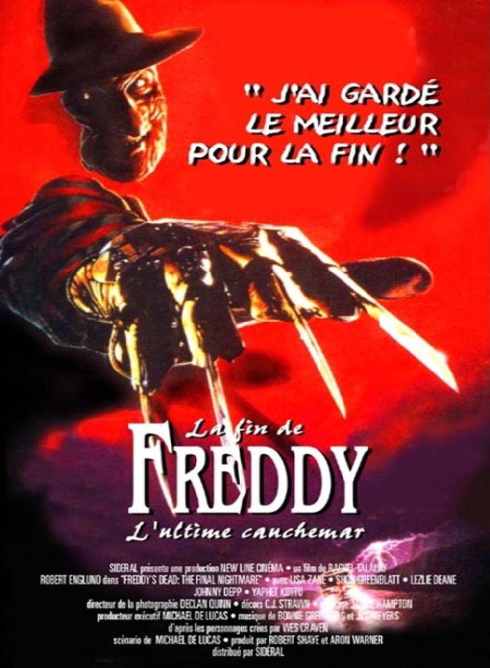 affiche du film La fin de Freddy: L'ultime cauchemar