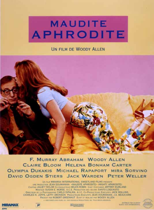 affiche du film Maudite Aphrodite