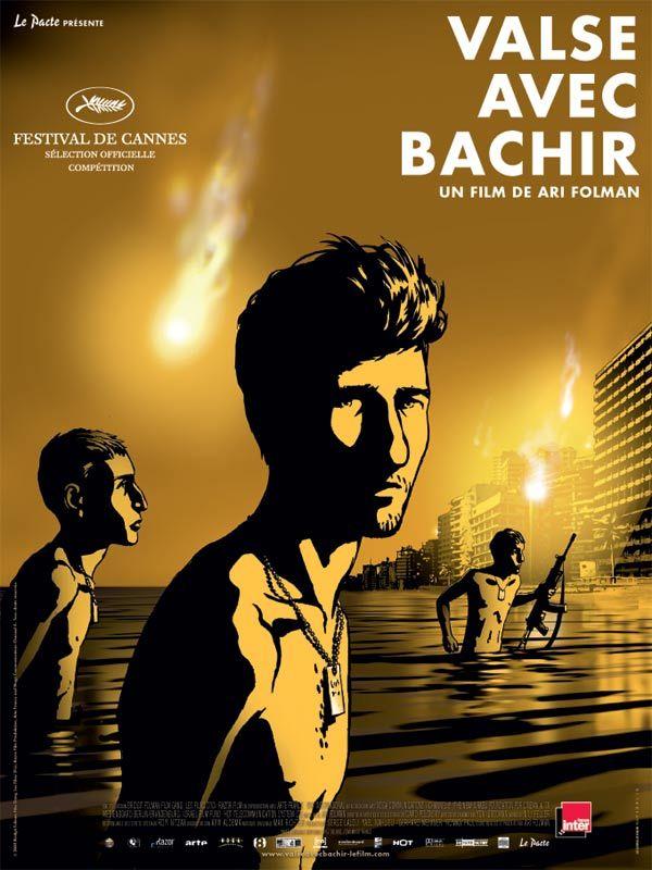 affiche du film Valse avec Bachir