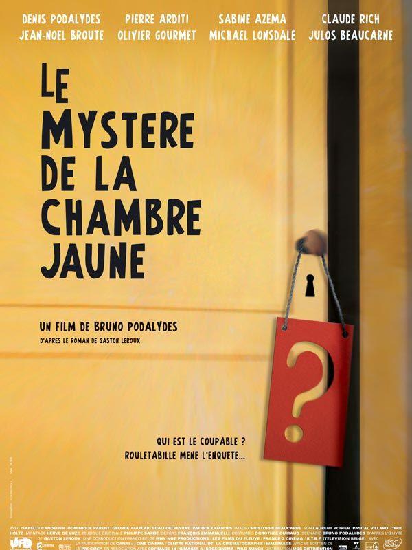 affiche du film Le Mystère de la chambre jaune
