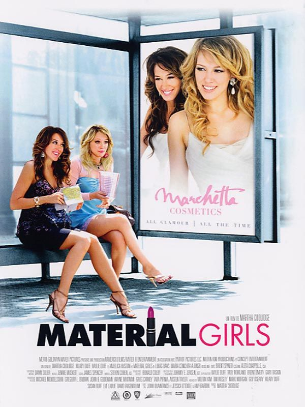 affiche du film Material Girls