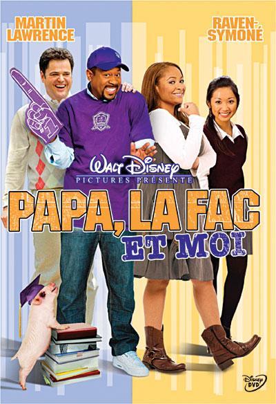 affiche du film Papa, la fac et moi