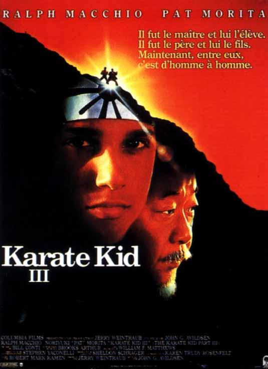 affiche du film Karate kid III