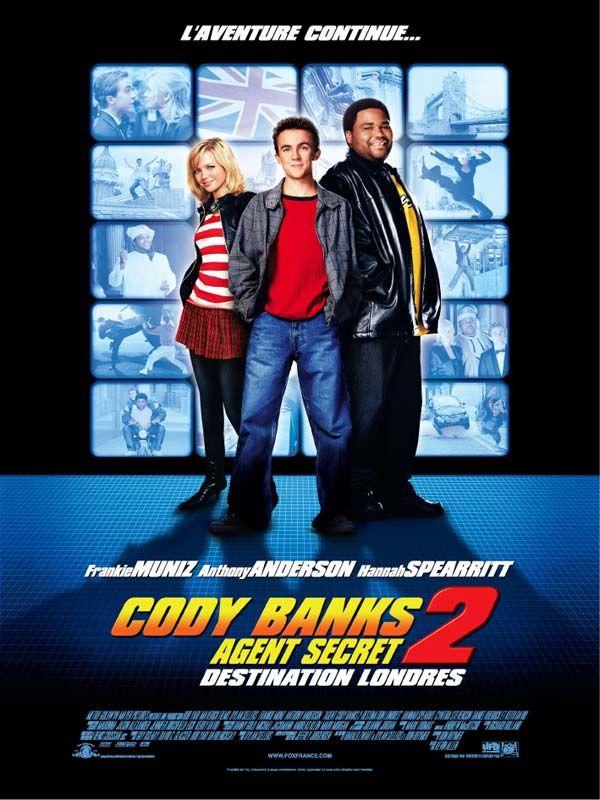 affiche du film Cody Banks agent secret 2: Destination Londres