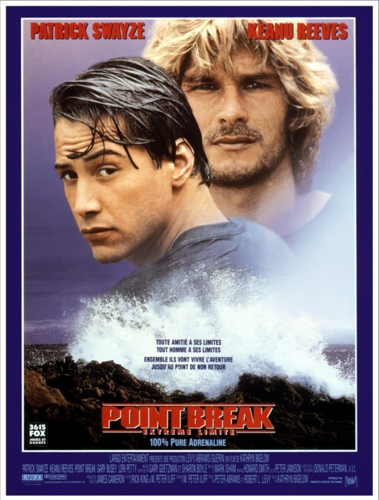 affiche du film Point Break : Extrême limite
