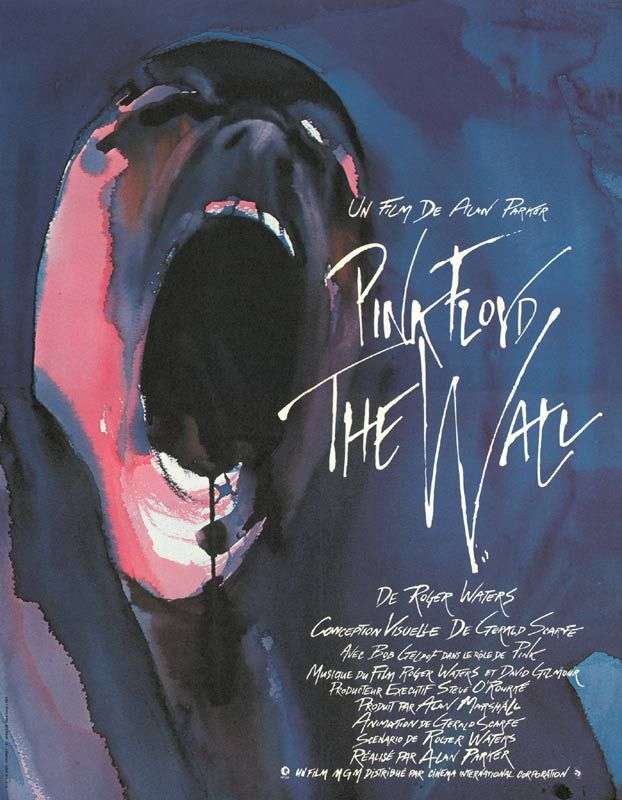 affiche du film Pink Floyd: The Wall