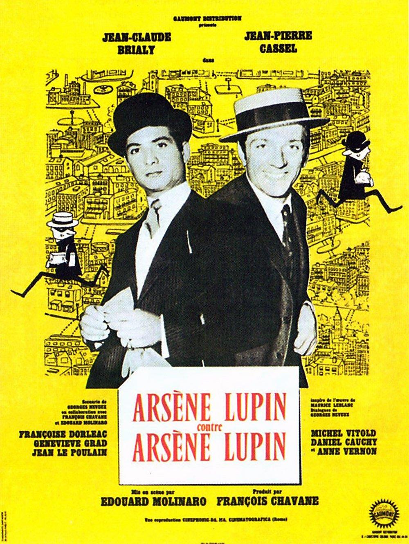 affiche du film Arsène Lupin contre Arsène Lupin