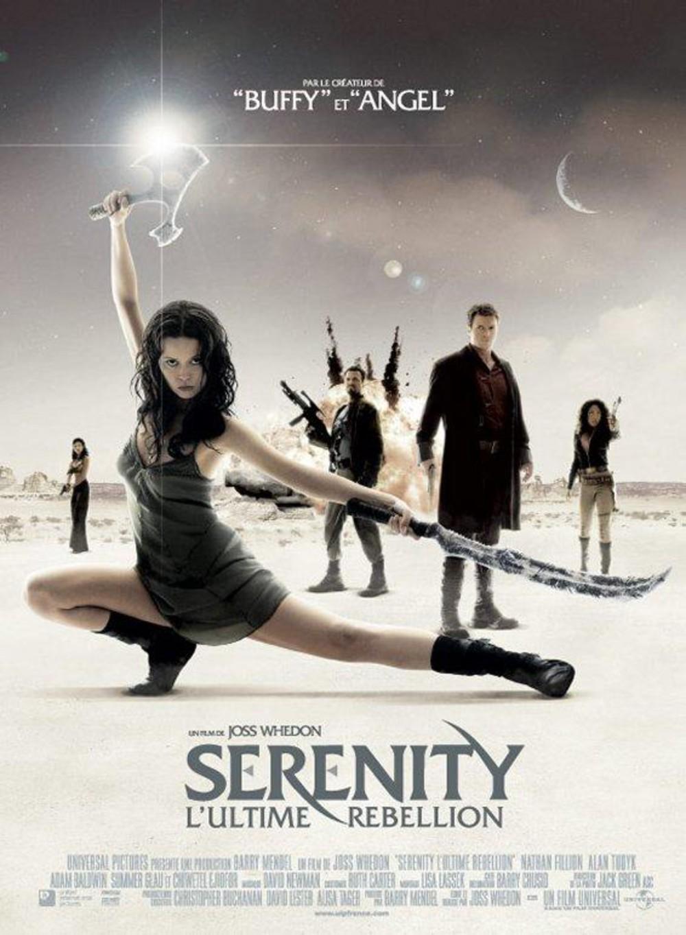 affiche du film Serenity : L'ultime rébellion