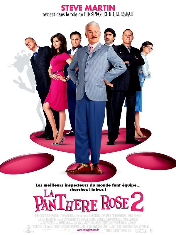 affiche du film La panthère rose 2