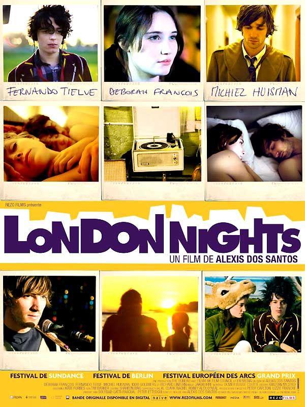 affiche du film London Nights