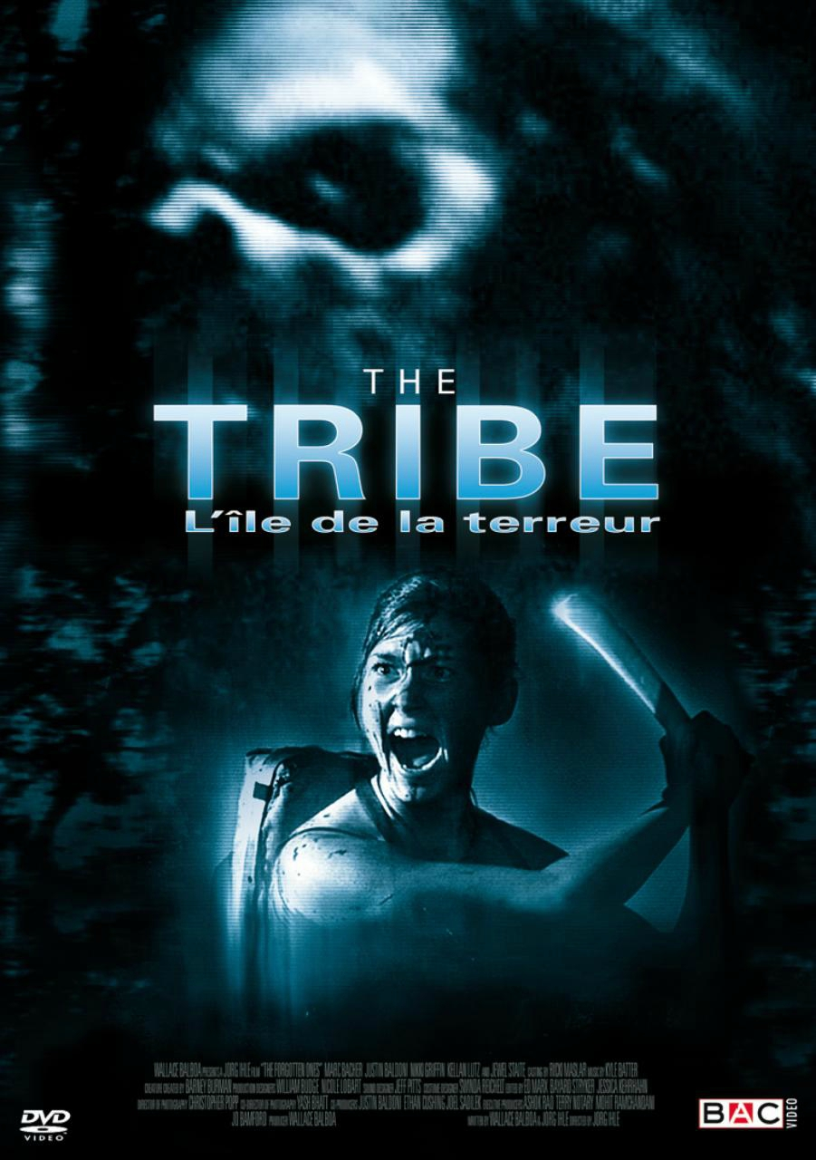 affiche du film The Tribe, l'île de la terreur