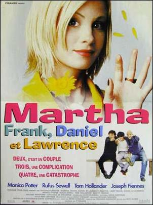 affiche du film Martha, Frank, Daniel et Lawrence
