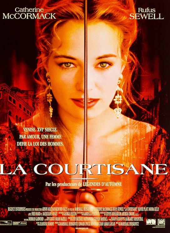 affiche du film La courtisane