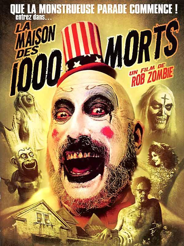 affiche du film La maison des 1000 morts
