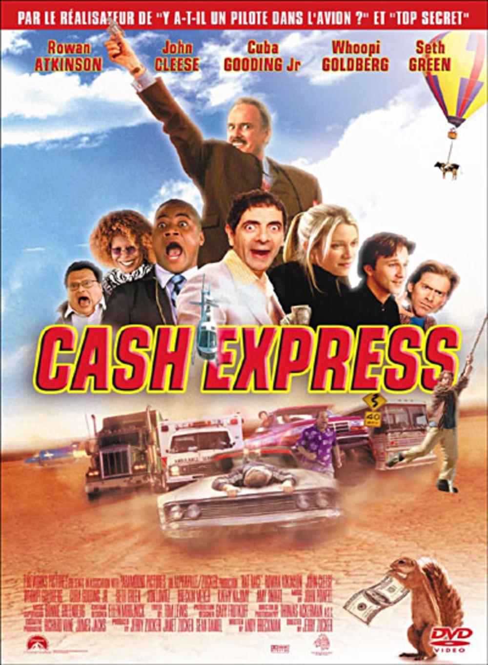 affiche du film Cash Express