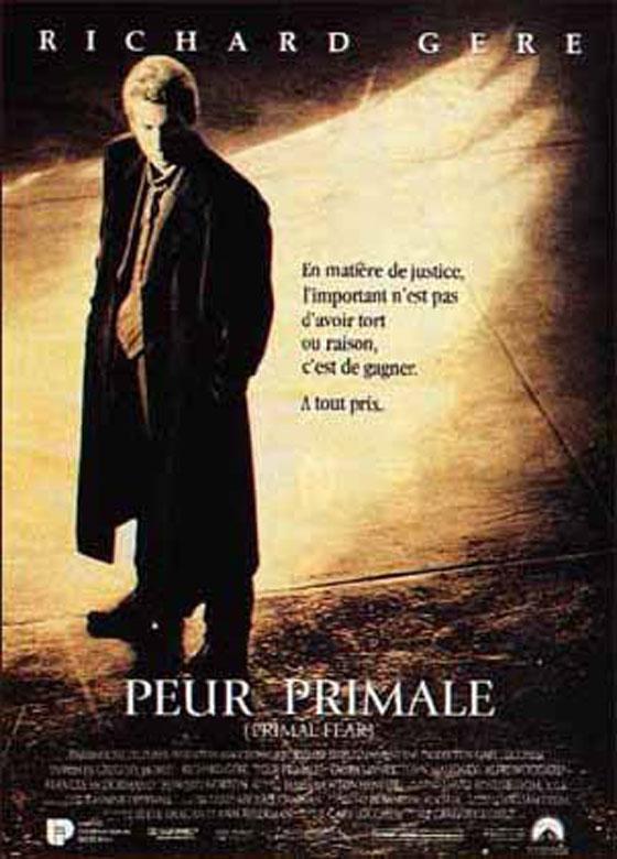 affiche du film Peur primale