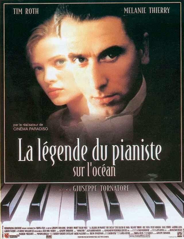 affiche du film La Légende du pianiste sur l'océan