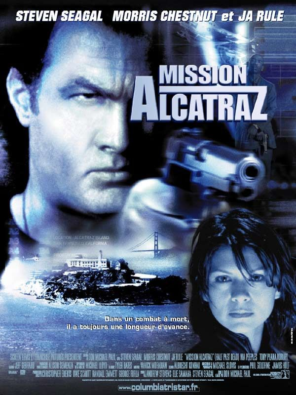 affiche du film Mission Alcatraz