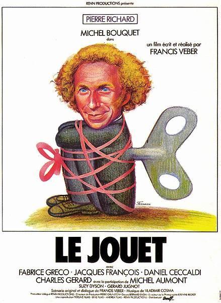 affiche du film Le Jouet
