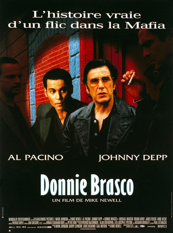 affiche du film Donnie Brasco